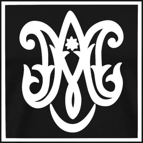 Ave Maria (dark) - Men's Premium T-Shirt