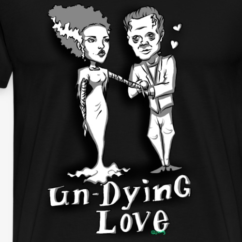 mr and mrs frank final - Men's Premium T-Shirt