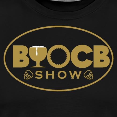 BYOCB Gold and Black Logo - Men's Premium T-Shirt