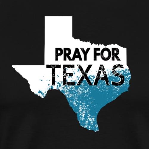 Texas Harvey Flooding Houston. Pray for Texas - Men's Premium T-Shirt