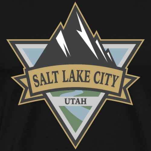 Salt Lake City, Utah - Men's Premium T-Shirt