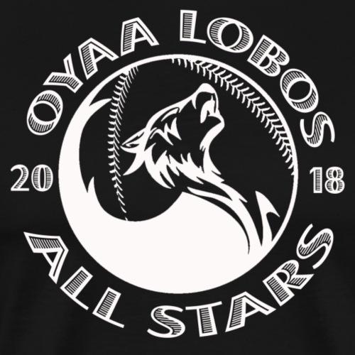 Lobos All Stars White Logo - Men's Premium T-Shirt