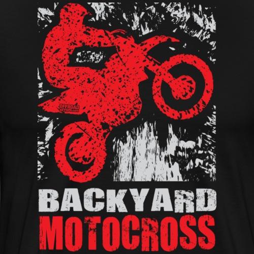 Backyard Motocross Honda - Men's Premium T-Shirt