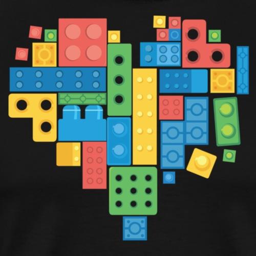 Lovely Blocks - Men's Premium T-Shirt
