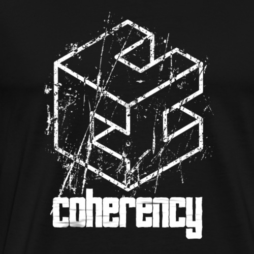 Coherency Logo - Men's Premium T-Shirt