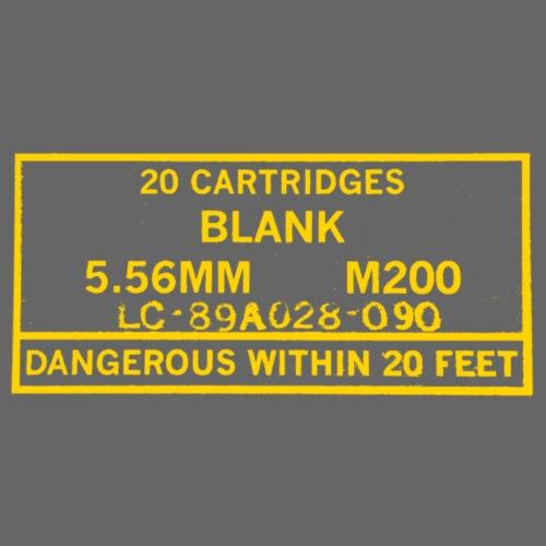 M200 Blank Box, Yellow - Men's Premium T-Shirt