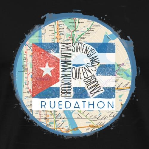 RUEDATHON tee shirt print - Men's Premium T-Shirt