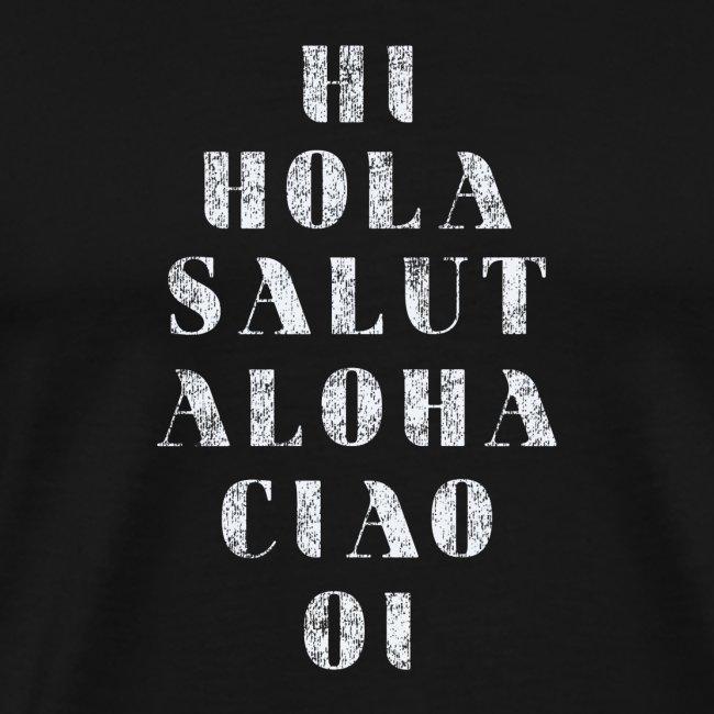 Di Hola en Varios Idiomas