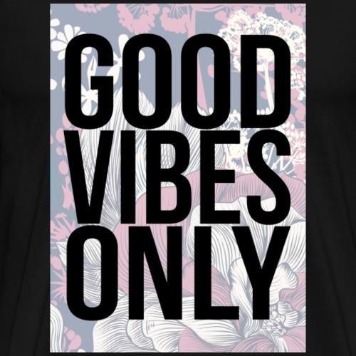 good vibes only oriental - Men's Premium T-Shirt