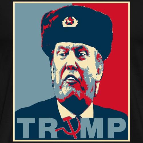 Trump Russian Poster tee - Men's Premium T-Shirt
