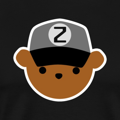 ABC Bear Letter Z - Men's Premium T-Shirt