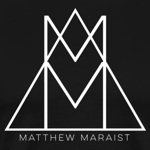 Matthew Maraist White Logo - Men's Premium T-Shirt