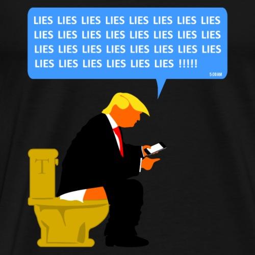 Trump Executive Time - Men's Premium T-Shirt