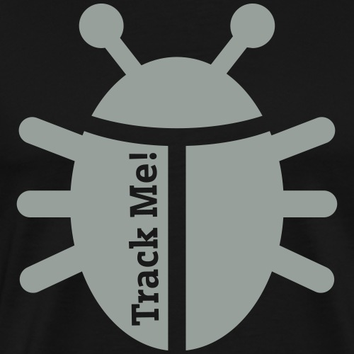 Tracking Bug - Men's Premium T-Shirt