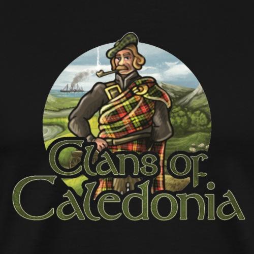 Clans of Caledonia, Clan Buchanan - Men's Premium T-Shirt