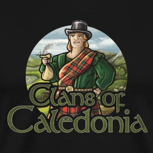 Clans of Caledonia, Clan Stewart - Men's Premium T-Shirt