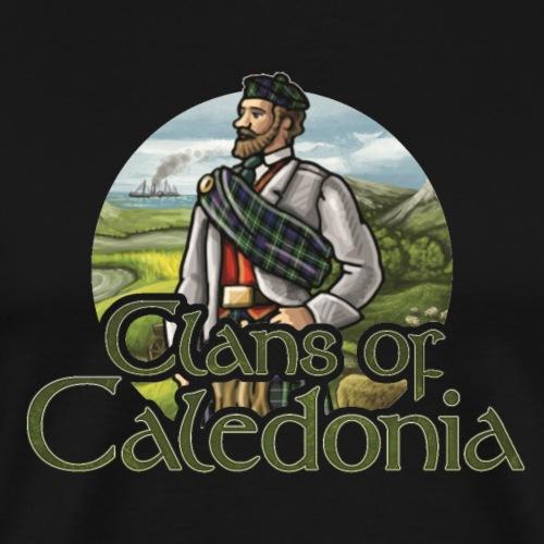 Clans of Caledonia, Clan MacKenzie - Men's Premium T-Shirt