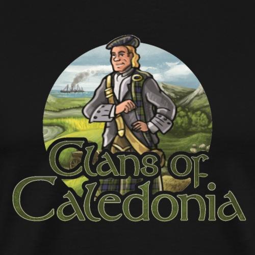 Clans of Caledonia, Clan Fergusson - Men's Premium T-Shirt