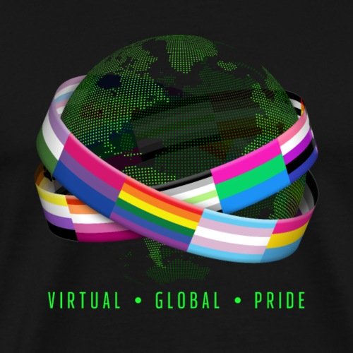Virtual Global Pride - Men's Premium T-Shirt