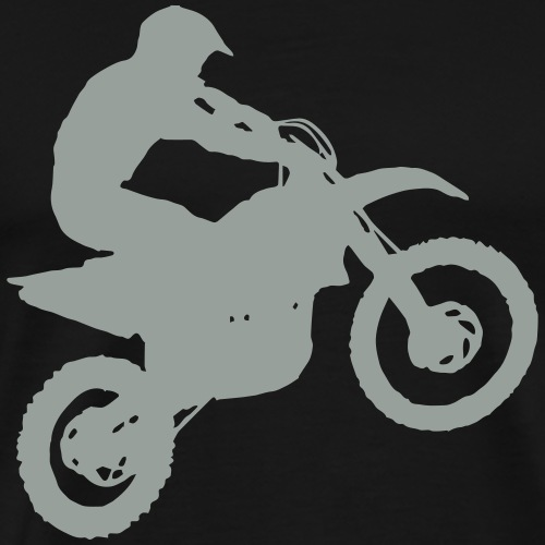 Motocross Dirt biker - Men's Premium T-Shirt