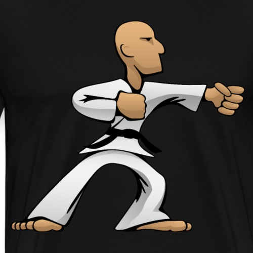 Martial Arts Dude - Men's Premium T-Shirt