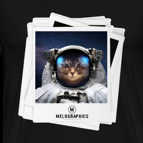 Cat Astronaut - Men's Premium T-Shirt