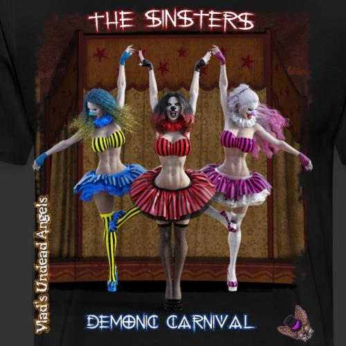 Demonic Carnival The Sinsters - Men's Premium T-Shirt