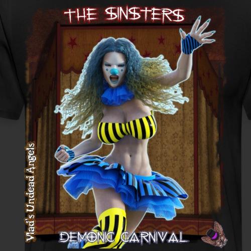 Demonic Carnival Melancholy - Men's Premium T-Shirt