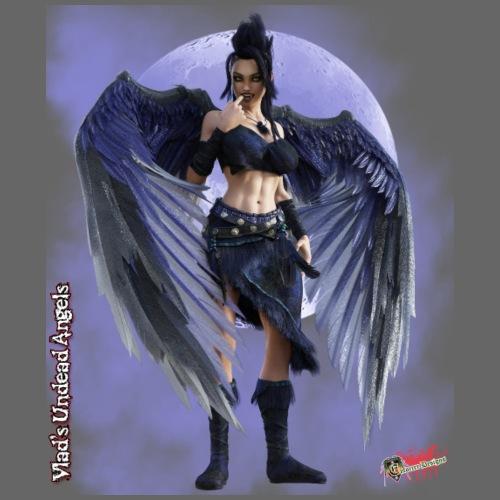 Undead Angels By Moonlight: Vampire Kaliska - Men's Premium T-Shirt