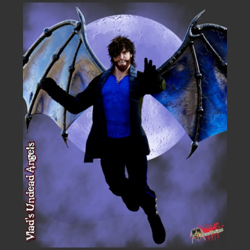 Undead Angels By Moonlight: Vampire - Men's Premium T-Shirt