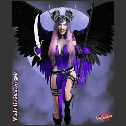 Undead Angels By Moonlight: Fallen Wrath - Men's Premium T-Shirt