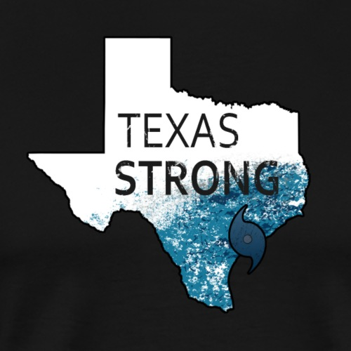 Texas Strong Harvey Texas Graphic - Men's Premium T-Shirt
