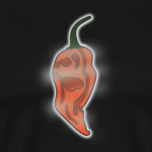 Ghostly Peppers Logo - Men's Premium T-Shirt