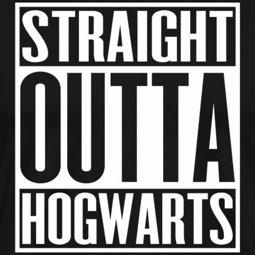Straight Outta Hogwarts - Men's Premium T-Shirt