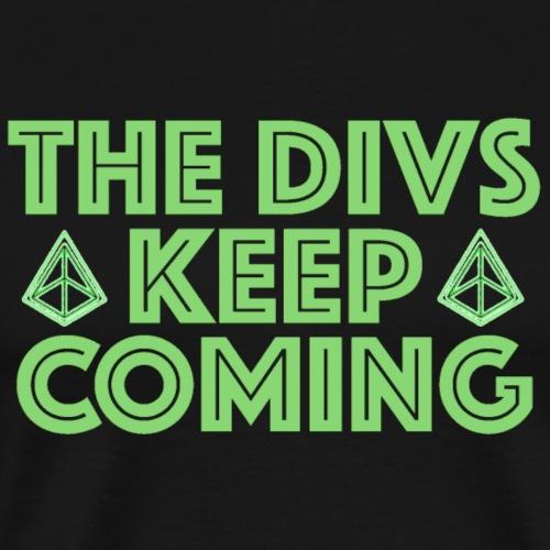Green Divs - Men's Premium T-Shirt