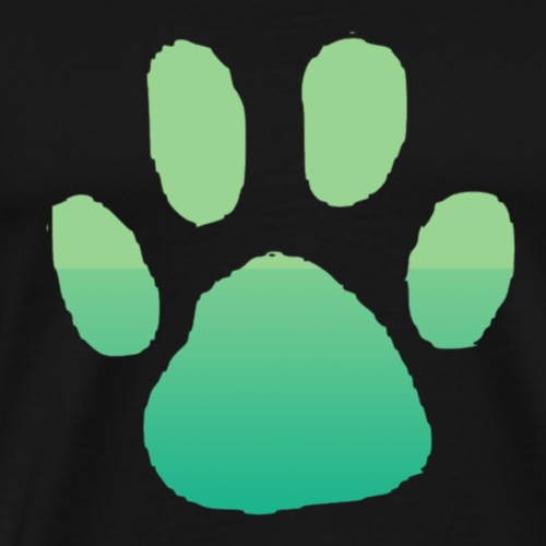 DoggoNation paw Logo - Men's Premium T-Shirt