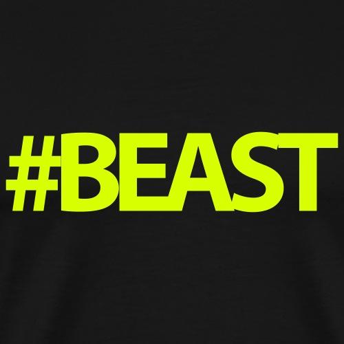 Beast Gym Motivation - Men's Premium T-Shirt