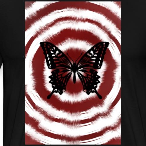 Circular butterfly - Men's Premium T-Shirt