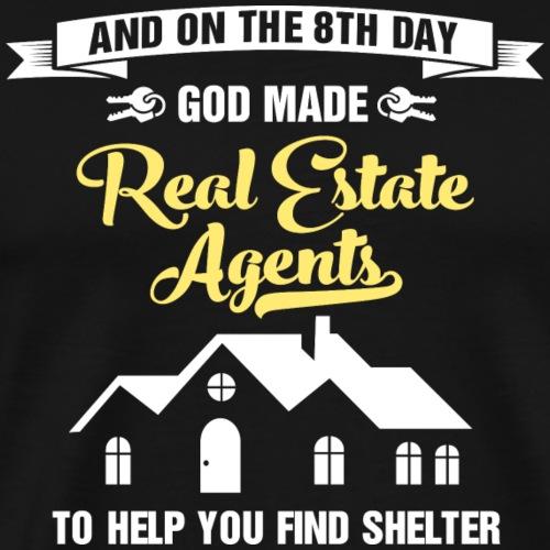 God Made RE Agents - Men's Premium T-Shirt