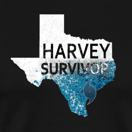 Harvey Survivor. Texas Hurricane Harvey 2017 - Men's Premium T-Shirt