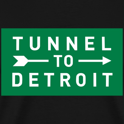Tunnel to Detroit - Men's Premium T-Shirt