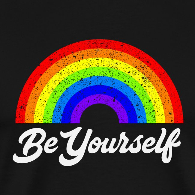 Be Yourself Pride Tee