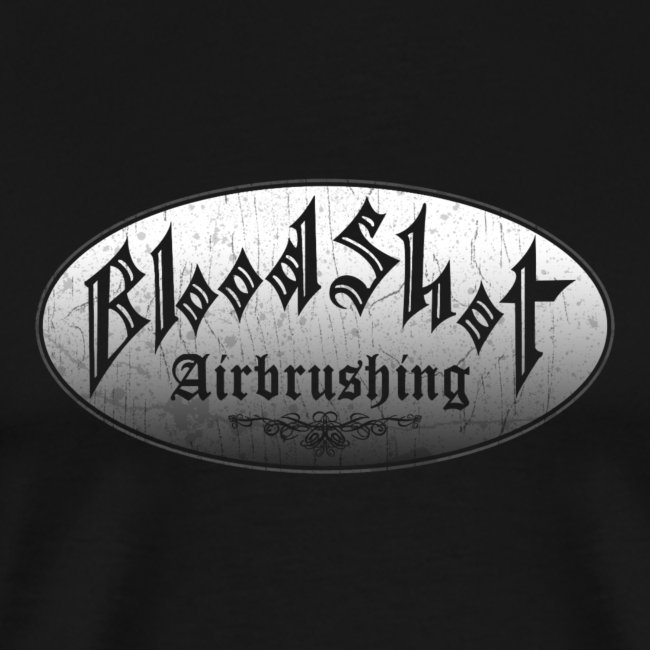 BloodShot Airbrushing Logo