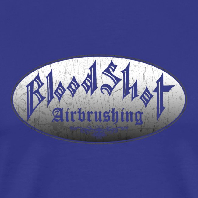 BloodShot Airbrushing Logo