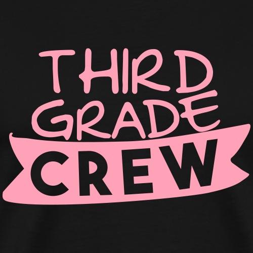 Third Grade Crew Teacher T-Shirts - Men's Premium T-Shirt