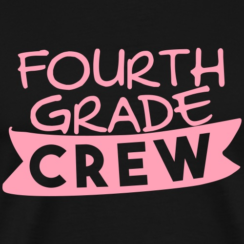 Fourth Grade Crew - Men's Premium T-Shirt