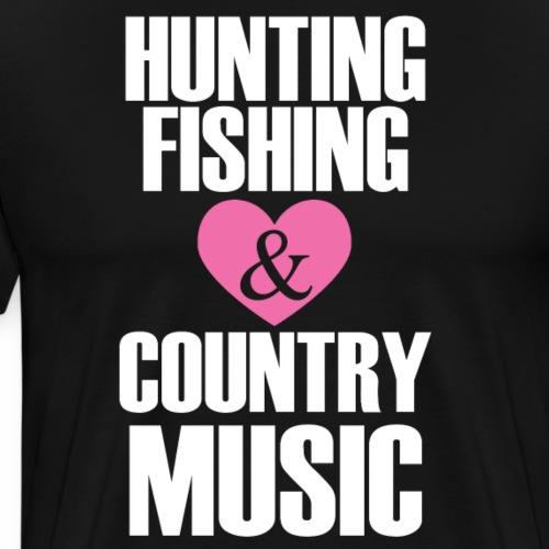 hunting fishing copy - Men's Premium T-Shirt
