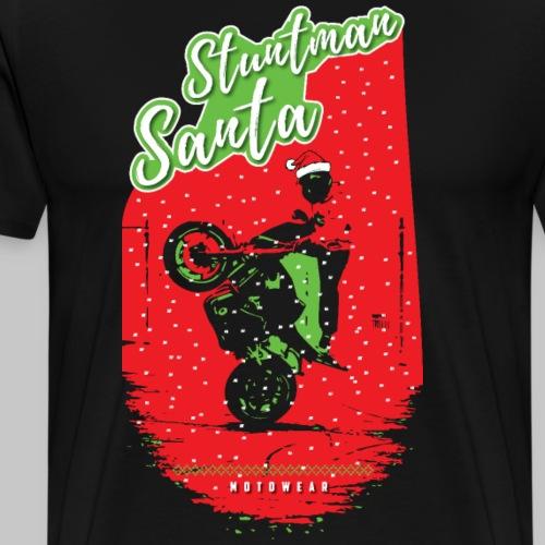 STUNTMAN SANTA - Men's Premium T-Shirt