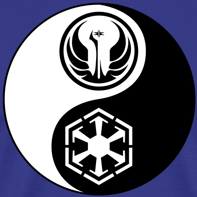 Star Wars SWTOR Yin Yang 2-Color