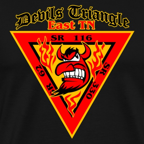 Devils Triangle Tennessee - Men's Premium T-Shirt